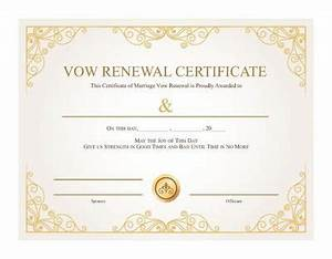 vow renewal ceremony ideas scripts to enhancements With vow renewal certificate template