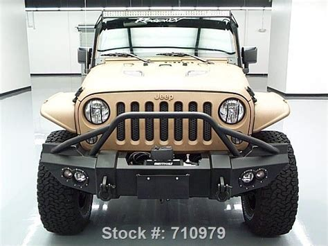 matte tan jeep 2015 matte tan and black customized jeep wrangler http