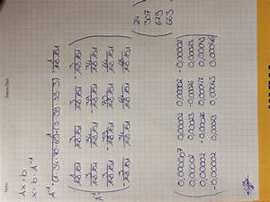 Einheitsmatrix Berechnen : matrizen matrixgleichung ax b welches element ist x2 mathelounge ~ Themetempest.com Abrechnung