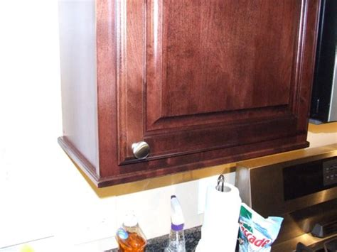 add elegance to your cabinets with a few simple details