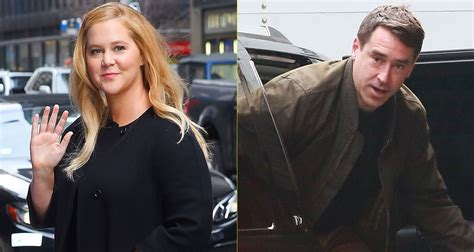 amy schumer and husband amy schumer gets support from husband chris fischer during