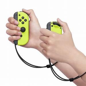 Nintendo Switch Neon Yellow Joy Con Controller Set L R