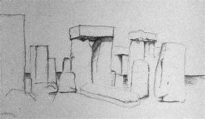 Stonehenge sketch | Sketch of Stonehenge from the summer ...