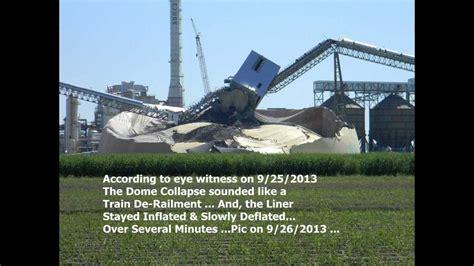 Nucor Dome Collapse 9.26.2013 - YouTube