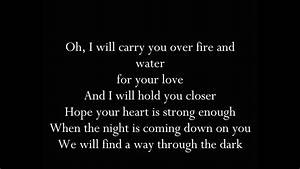 One Direction - Through The Dark Lyrics - YouTube