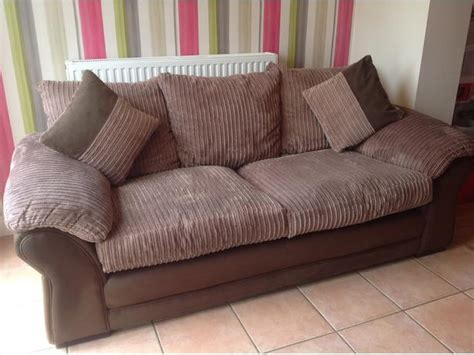 Dfs Settee by Dfs Chenille Fabric 3 Seater Settee Sofa Mink