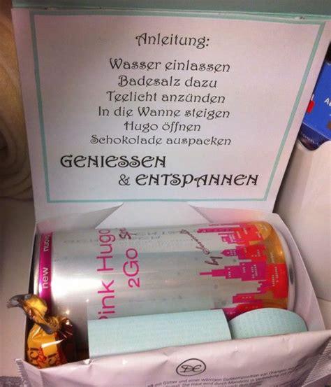 selbstgemachte geschenke für männer zum geburtstag das ist ne tolle idee f 252 r meine beste freundin ein wellness paket zum selbermachen klasse