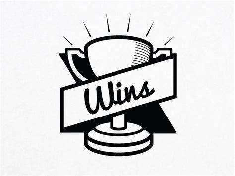 Wins Logo by Brett Epp on Dribbble