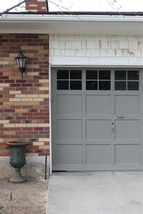 garage door trim adding trim to our garage door