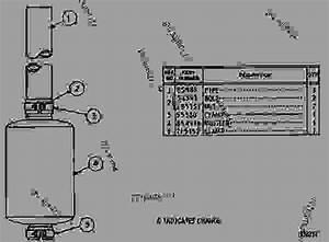 7s7134 Muffler Group - Track-type Loader Caterpillar 951b