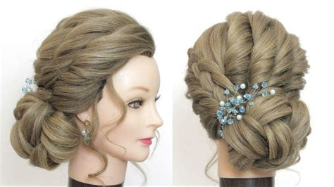 New Low Side Bun For Prom Wedding Party Updo Hairstyles