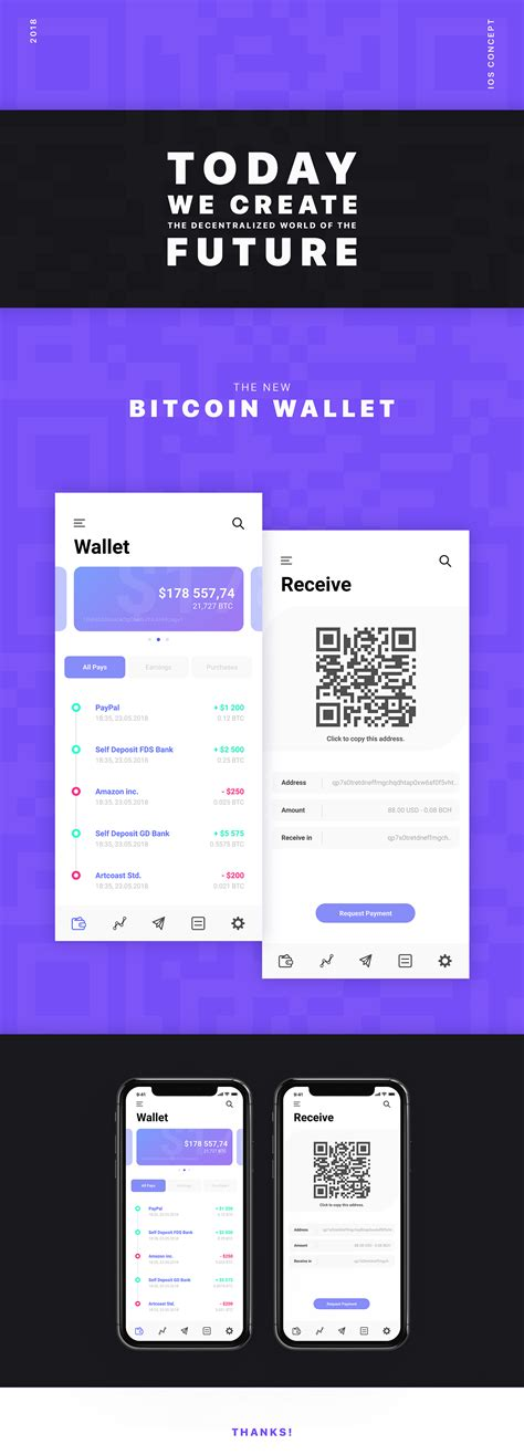 This is a nice feature, especially if your iphone screen is otherwise already crowded with a myriad of apps. Bitcoin Wallet - iOS Concept App 2018 on Behance