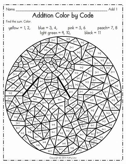 Number Pdf Multiplication Addition Coloring Pages Sheets