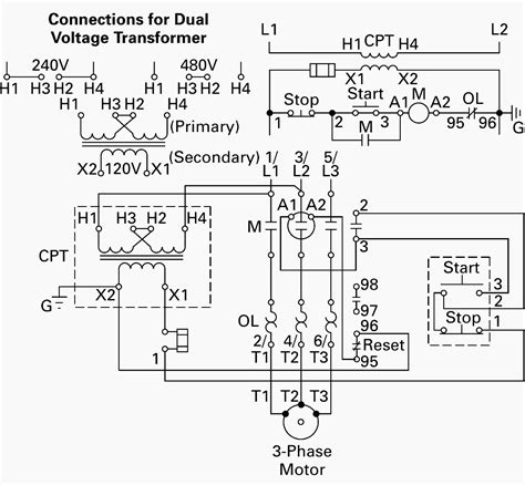 120 Volt Schematic Wiring by Step Up Transformer 208 To 480 Wiring Diagram Gallery