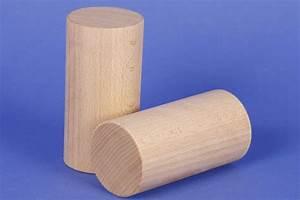 Rond En Bois : cylindre en h tre 60mm cubes en bois rond 120x60mm ~ Teatrodelosmanantiales.com Idées de Décoration