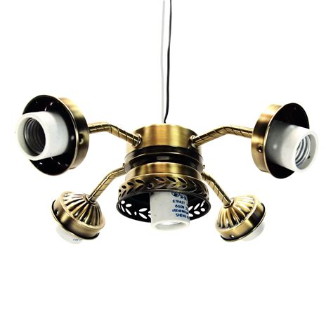 Antique Brass Ceiling Fan Light Kit Baby Exitcom Lights