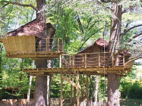 chambre insolite les cabanes dans les arbres familiales de la