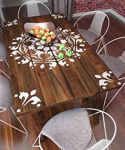 1000 idees sur le theme pochoir des meubles sur pinterest With idee entree de maison 4 peinture dun hall dentree et frise au pochoir