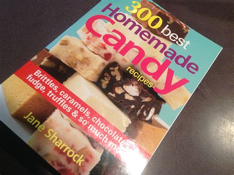 candy recipes homemade cookbook collection