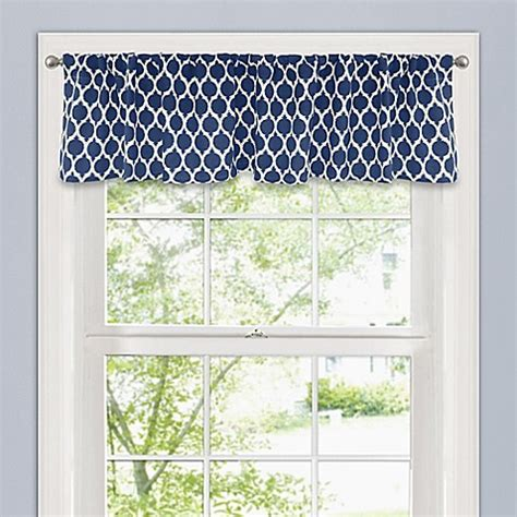 14 Inch Valance by Morocco 14 Inch Window Valance Bed Bath Beyond