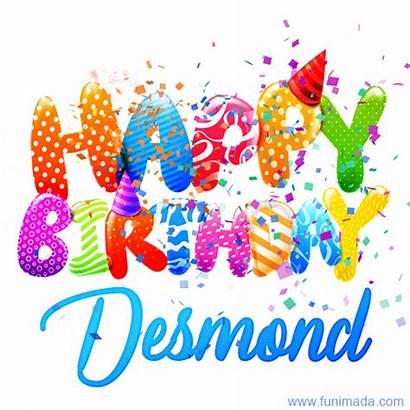 Desmond Birthday Happy Personalized Creative Gifs Funimada