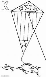 Kite Coloring Chinese Kites Printable Template Cool2bkids Templates sketch template