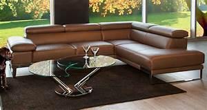 Salon En Cuir : meubles de salon en cuir mariette clermont ~ Medecine-chirurgie-esthetiques.com Avis de Voitures