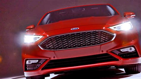 2017 Ford Fusion V6 Sport Footage Youtube