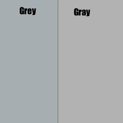 how do u spell the color grey how do u spell the color gray the hair color changing