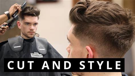 mens haircut youtube