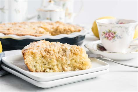 I had planned on taking a slice to my zucchini giving neighbor it's number 1 in my husband's book of coffee cakes that i make. Lemon Zucchini Coffee Cake | Valerie's Kitchen