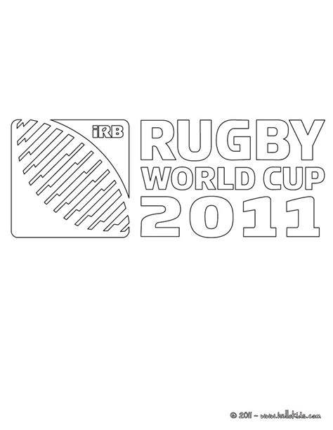Rugby Kleurplaat by Rugby World Cup 2011 Coloring Pages Hellokids