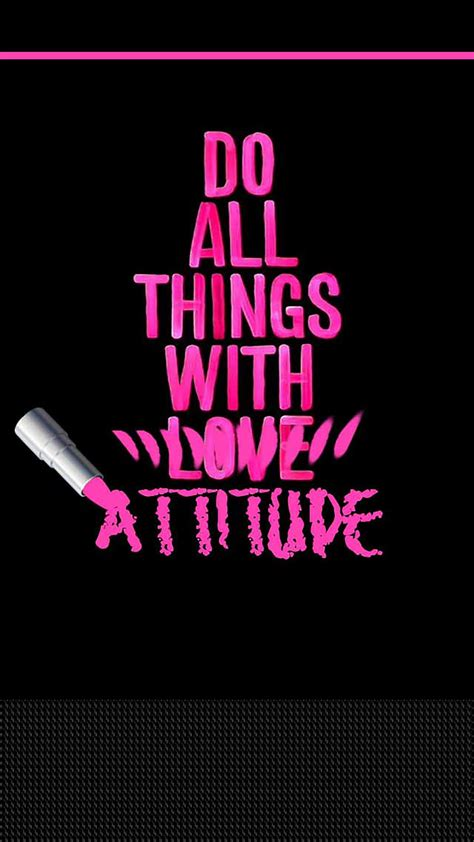 Attitude Home Screen Wallpaper Quotes by Attitude Wallpapers 58 Background Pictures