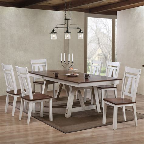 winslow rectangular dining room set  tone  bernards