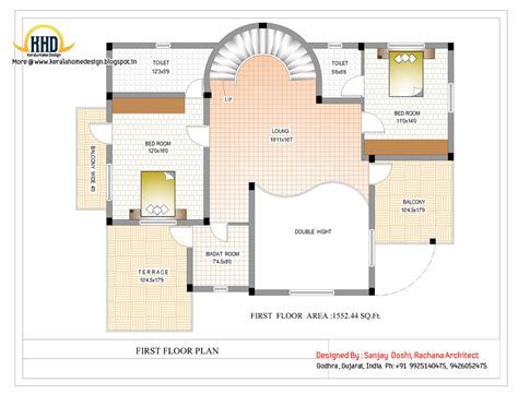 floor planner duplex house plan and elevation 3122 sq ft kerala