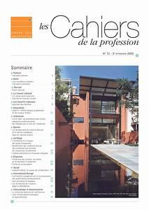 Contrat D Architecte : les cahier de la profession n 11 by cnoa issuu ~ Premium-room.com Idées de Décoration