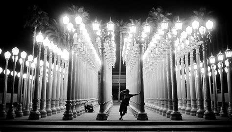 light museum los angeles public art quot urban light quot los angeles california half