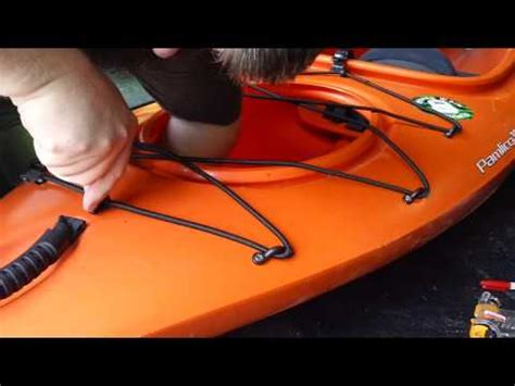 Pygmy Kayak Deck Rigging by Installing Yakgear Deck Rigging Kit On Wilderness Systems