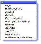Facebook adds two new relationship status - Civil Union ...