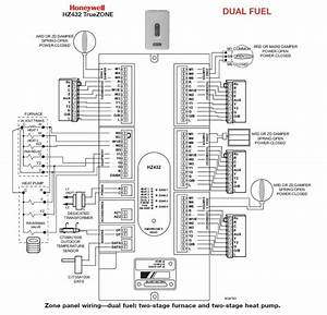 Circuit Honeywell Diagram Board Wiring B1809911
