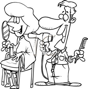 hairdresser coloring pages  getcoloringscom