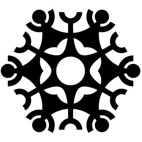 Transparent Background Snowflake Silhouette Snowflake Clip by Snowflake Transparent Background Clipart Panda Free