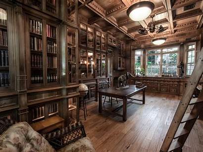 Library Steampunk Study Built Libraries Jim Steampunktendencies
