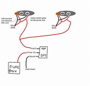 Qx70 09-17 - How To Get My Halo Lights To Turn On When The Car Is On