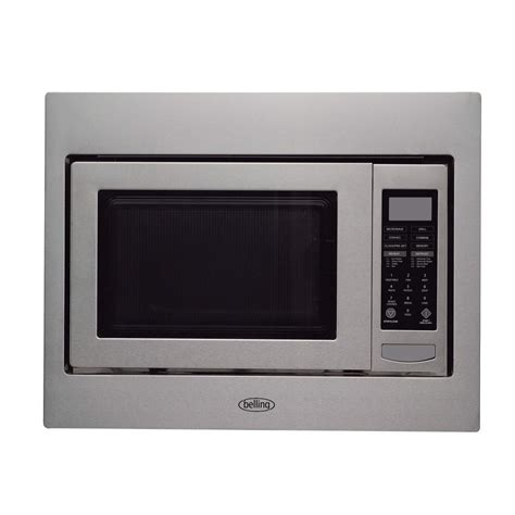 how wide is a microwave cabinet belling bimw60 built in microwave oven for a 60cm wide