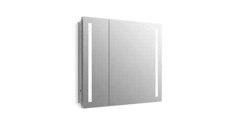 k 99009 tl verdera 174 lighted medicine cabinet 34 quot w x 30