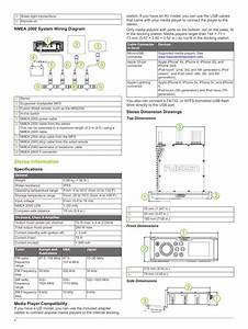 Nmea 2000 System Wiring Diagram  Stereo Information