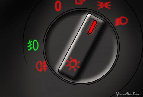 what do fog indicator warning lights yourmechanic
