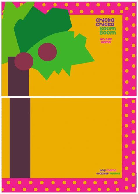 book mama  chicka chicka boom boom card game virtual