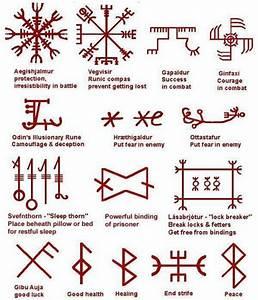 Symbole Mythologie Nordique : norse symbols runique pinte ~ Melissatoandfro.com Idées de Décoration